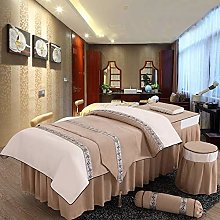 ynh Embroidery Massage Table Sheets Sets,linen