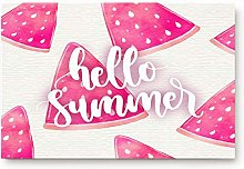 YnimioHOB Hello Summer Theme Pink Watermelon Door