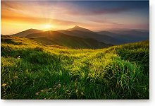 YnimioHOB Sunrise Mountains Scenery Door Mats