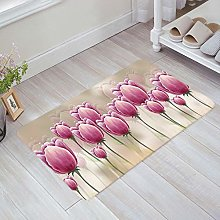 YnimioHOB Tulips Door Mats Indoor Kitchen Floor
