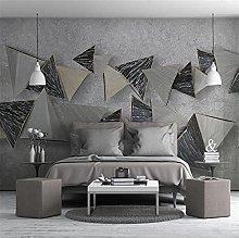 YNYEZBH 3D Photo Mural Abstract Geometric Graphics
