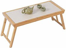 YO-TOKU Bamboo Laptop Bed Table Foldable Breakfast