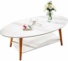 YO-TOKU Coffee Table 2-Tier End Table Sofa Console