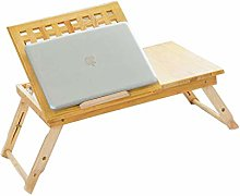 YO-TOKU Laptop Bed Table Desk Folding Height and
