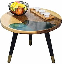 YO-TOKU Rustic Coffee Table Modern End Table