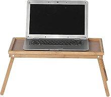 YO-TOKU Solid Wood Laptop Desk Reading Small Desk