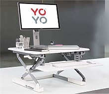 Yo-Yo DESK MINI (WHITE) Height-Adjustable Standing