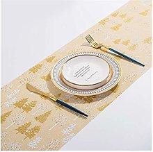 YOBAIH Table Runner Table Mats Cotton Linen