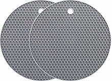 YOFASEN 7 inch Extra Silicone Trivet Mat -