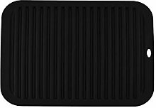 YOFASEN Black Silicone Trivet Mats - Trivet Mat