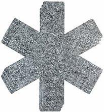 YOFASEN Gray Non-Woven Trivet Mat - Trivet for