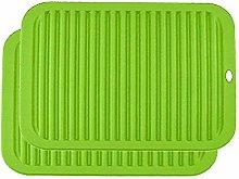 YOFASEN Green Silicone Trivet Mats - Trivet Mat