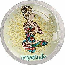 Yoga Meditation in Thailand White Crystal Drawer