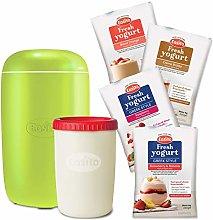 Yogurt Maker Lime Starter Bundle Includes 4