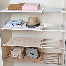 Yoillione Expandable Shelves Wardrobe Storage