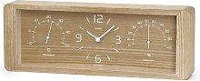 Yokan Desk Clock Union Rustic Colour: Natural