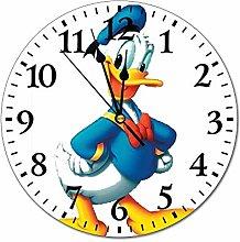 YOKJLDH Cool Donald Duck PVC Wall Clock Decorative