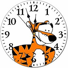 YOKJLDH Winnie The Pooh Tigger PVC Wall Clock