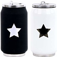 YOKO DESIGN 1380 Star Insulated Canister Gold