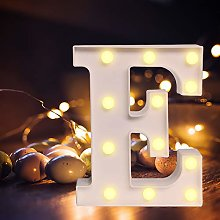 Yolispa LED Letter Lights Sign, 26 light up