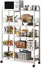 YoLiy Multifunctional Storage Rack 5-Tier Kitchen