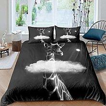 Yooseso® Boys Girls Bedding Set White clouds
