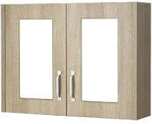 York Gladstone Oak 800mm 50/50 Split 2 Door