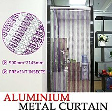YORKING 214.5 x 90CM Metal Chain Insect Fly Door