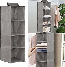 YORKING 4 Layer Hanging Wardrobe Storage
