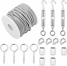 YORKING Garden Wire Cable Railing Kit Heavy Duty