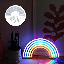 YORKING Neon Signs Rainbow LED Colorful Wall Light