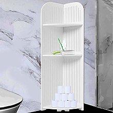 YORKING Tall Wood Toilet Cabinet Shelf Cupboard