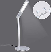 YORKING USB Charge Desk Table Lamp + QI Wireless