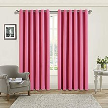 Yorkshire Bedding Blackout Curtain 66 x 54 Ring
