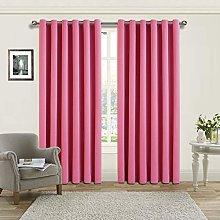 Yorkshire Bedding Blackout Curtain 66 x 72 Cm Ring