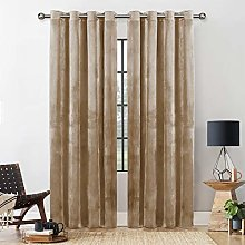 Yorkshire Bedding Blackout Curtain 66 x 90 Room