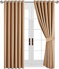 Yorkshire Bedding Blackout Curtain 90 x 72 Cm Ring