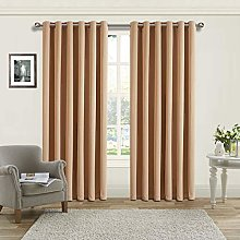 Yorkshire Bedding Blackout Curtain Ring Top -