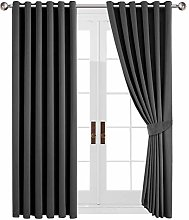 Yorkshire Bedding Blackout Curtains Ring Top -