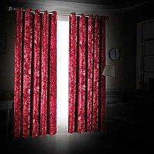 Yorkshire Bedding Curtain 66 x 90 Eyelet Crushed