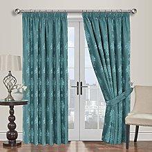 Yorkshire Bedding Luxurious Jacquard Curtains 66 x
