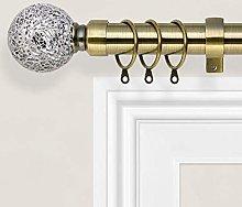 Yorkshire Bedding Mosaic Curtain Pole Extendable