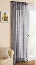 Yorkshire Linen - Casablanca Voile Panel Curtain
