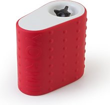 Yormii Millmii Salt and Pepper Mill, Ruby Red