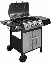 yorten Gas Barbecue Grill 4+1 Burner Garden Grill