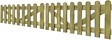 yorten Picket Fence Gate Garden Wooden Fencing 2