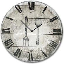 Yosef Antique 30cm Wall Clock Lily Manor