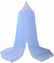 YOSEMITE Bed Canopy Curtains Soft Star Sequin Crib
