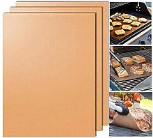 Yoshi Copper Grill Mats; Heavy Duty Up to 500