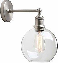 Yosoan Lighting Industrial Loft Bar Brushed Sconce